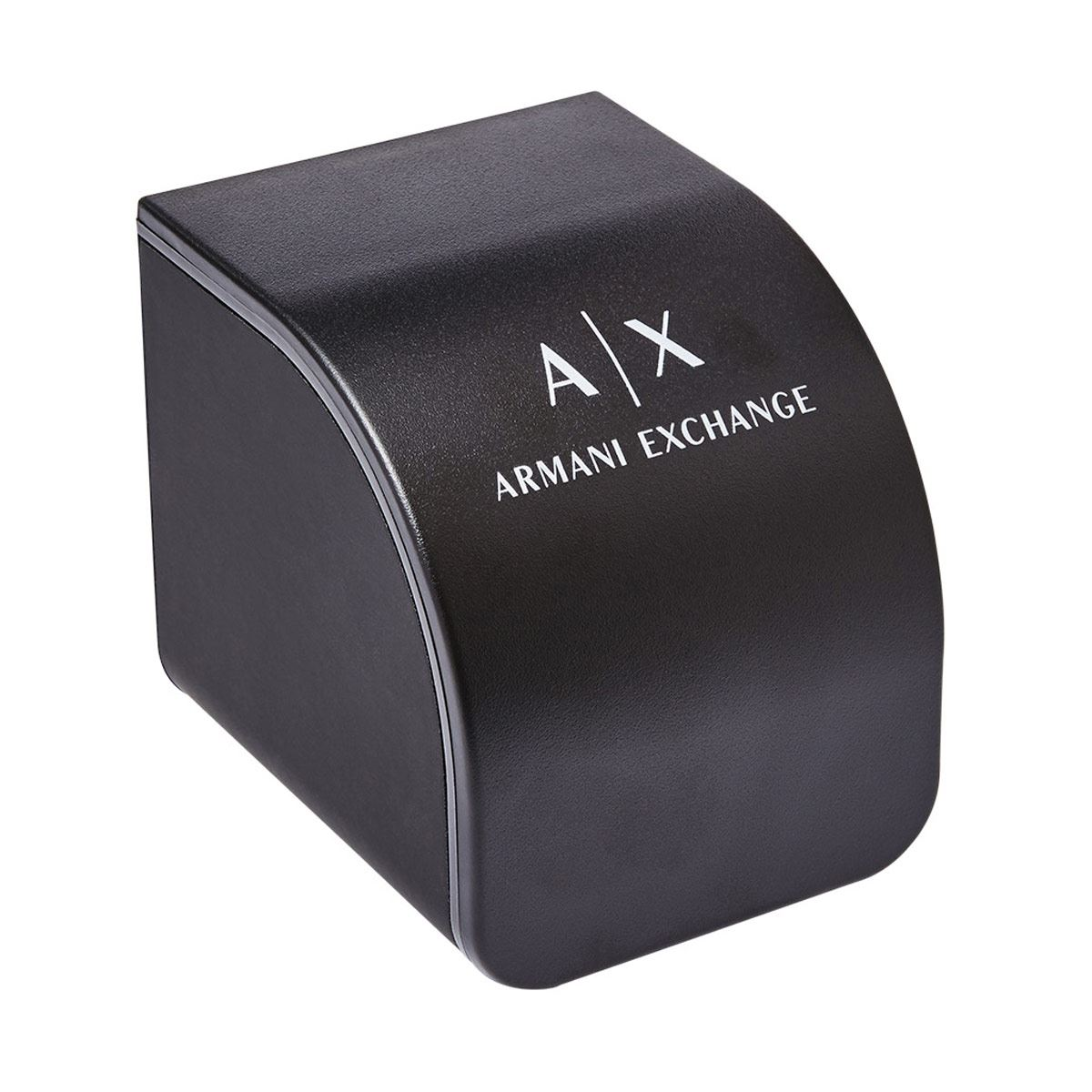 Reloj Armani Exchange Drexler Negro y Rojo Para Caballero