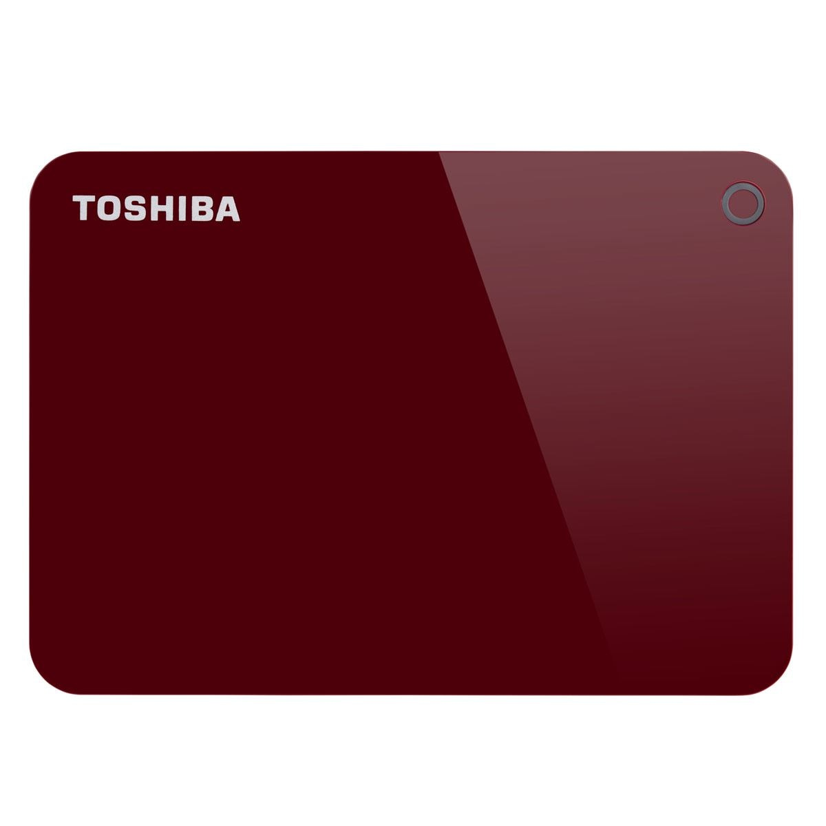 Disco Duro Advance 1TB Rojo Toshiba