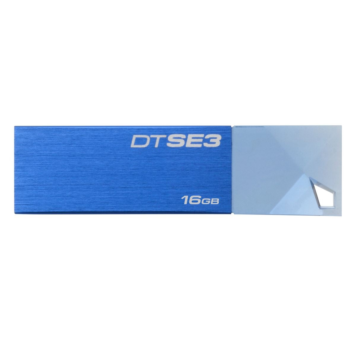 Kingston Memoria USB 2.0 16GB DTSE3 Azul