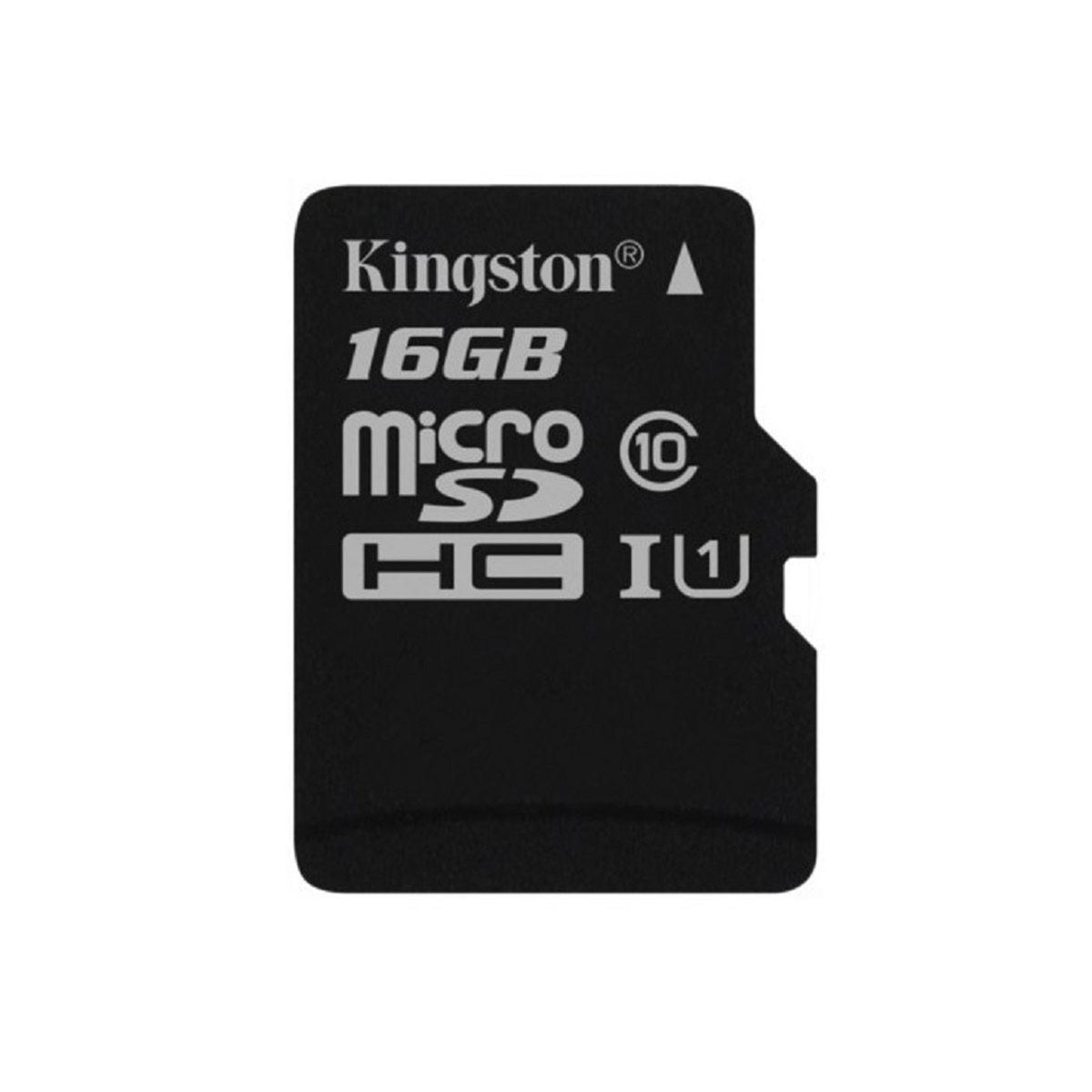 Micro SD Kingston 16GB Canvas CL10