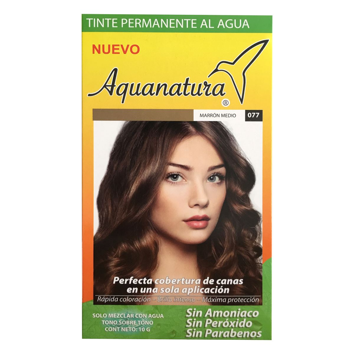 Tinte permanente al agua aquanatura marrón medio  - Sanborns
