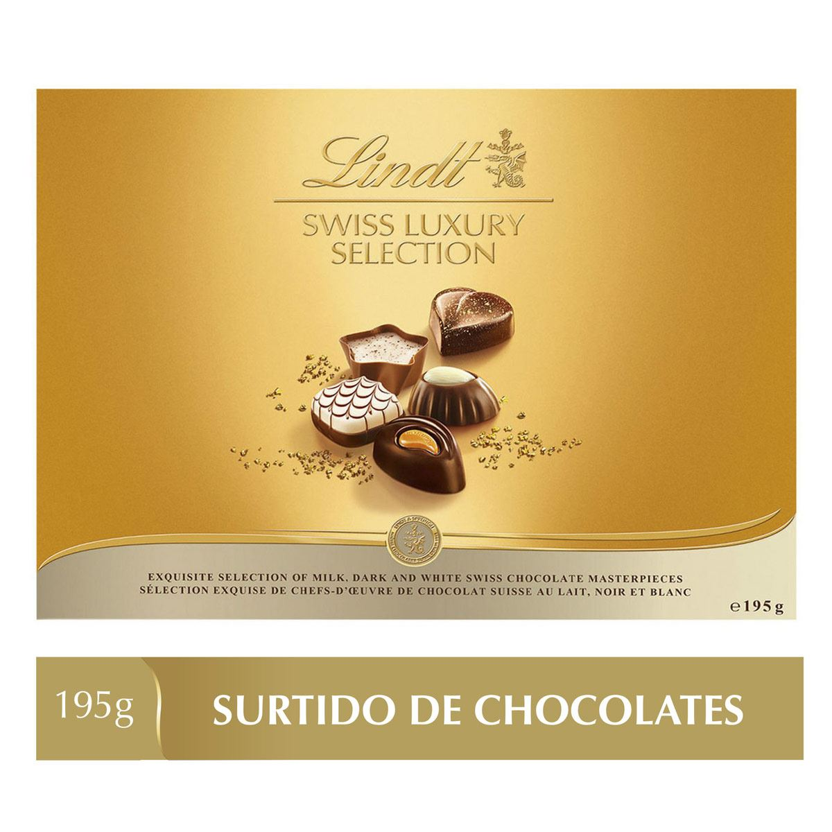 Lindt Swiss Luxury Selection,195g