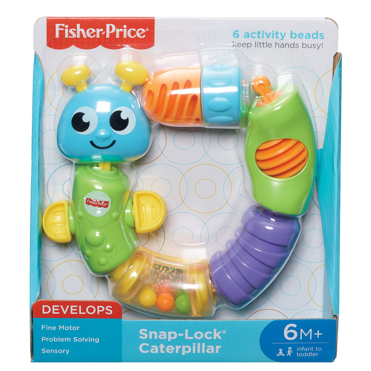 Oruga Cadena Fisher Price  Brillant Basics