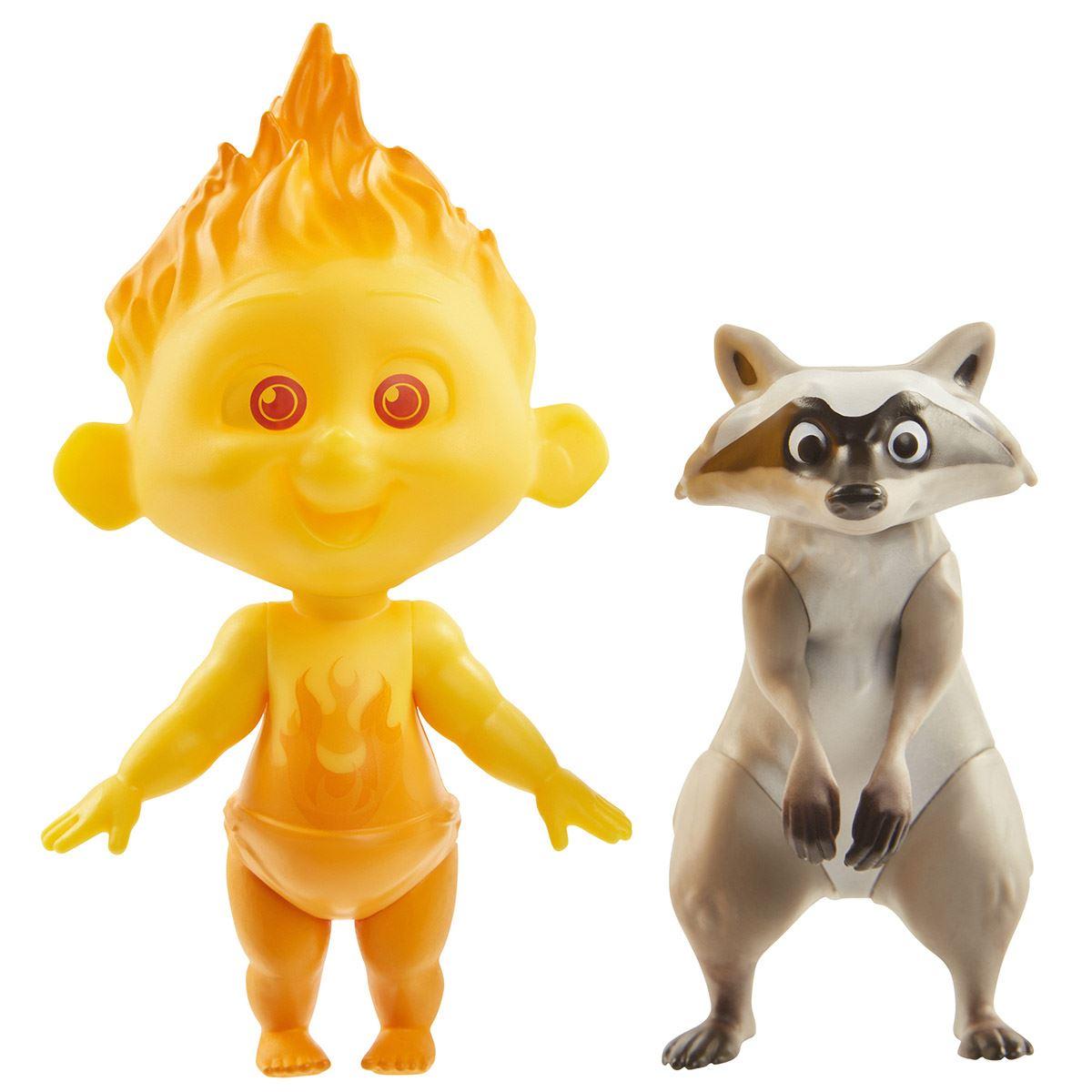 Increíbles Figuras Jack-Jack y Draccoon