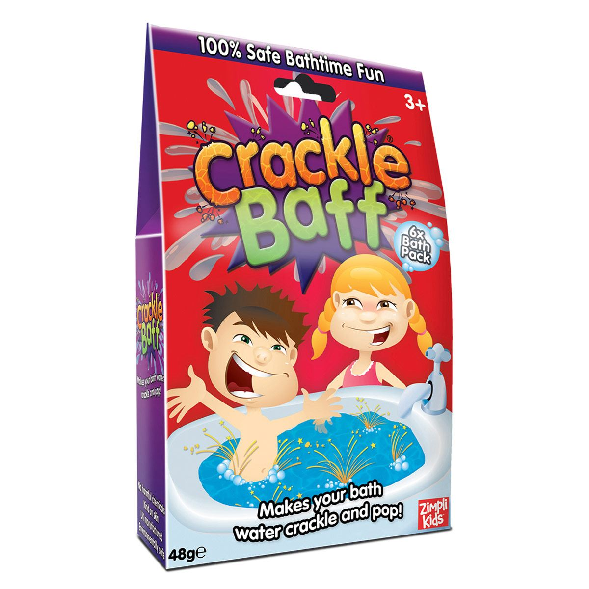 Polvo Crackle Baff Zimpli Kids