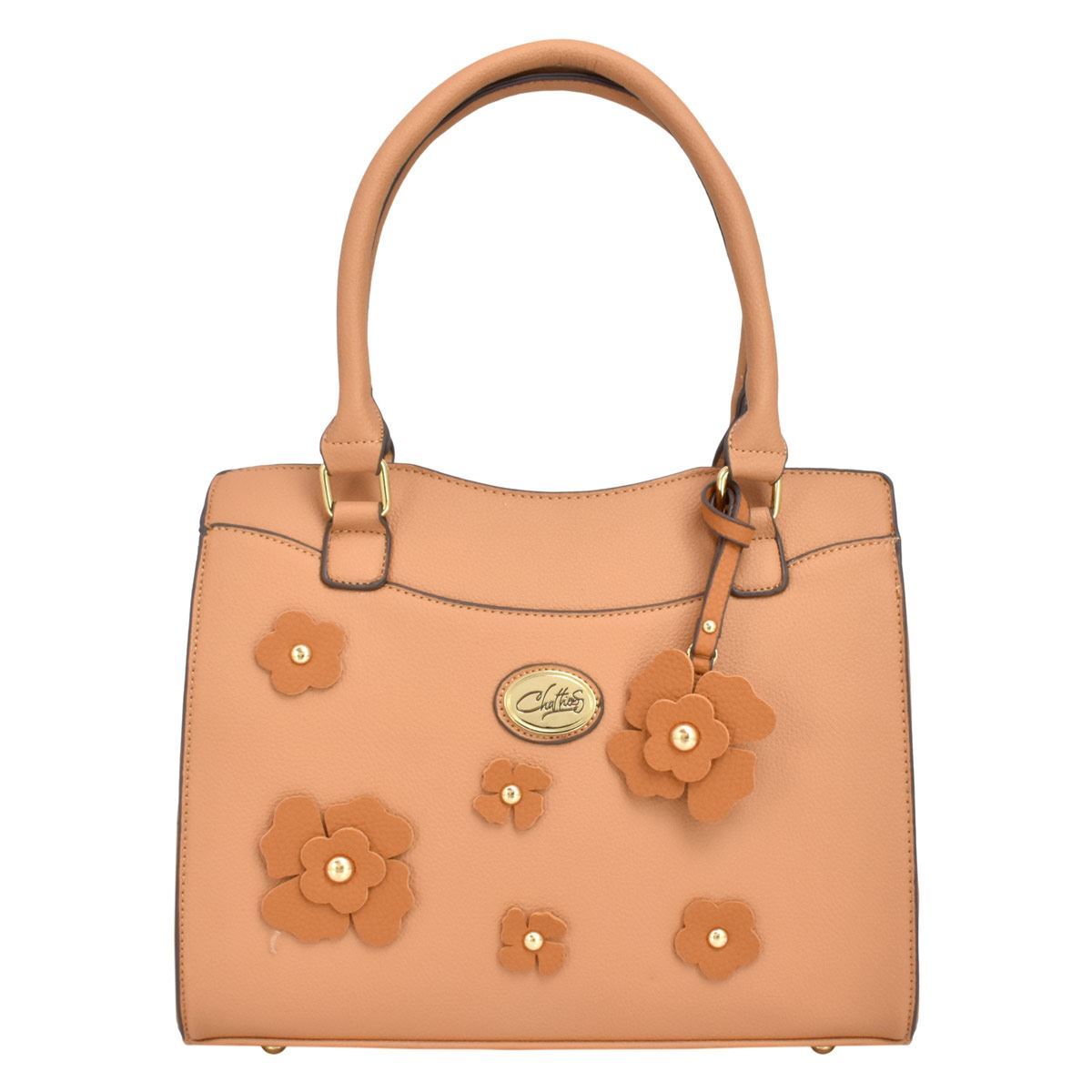 Bolso tote Chatties camel