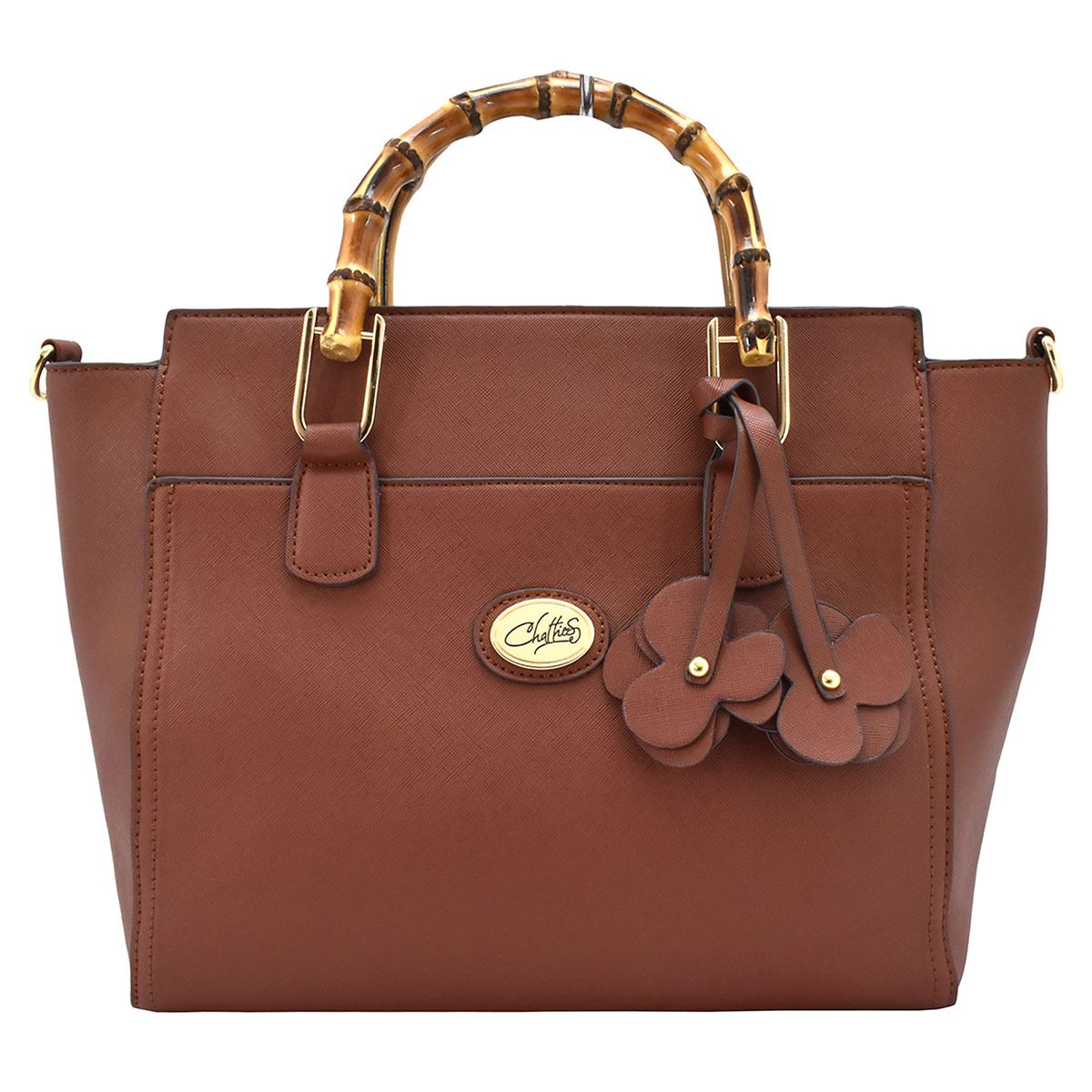 Bolso Chatties tote camel