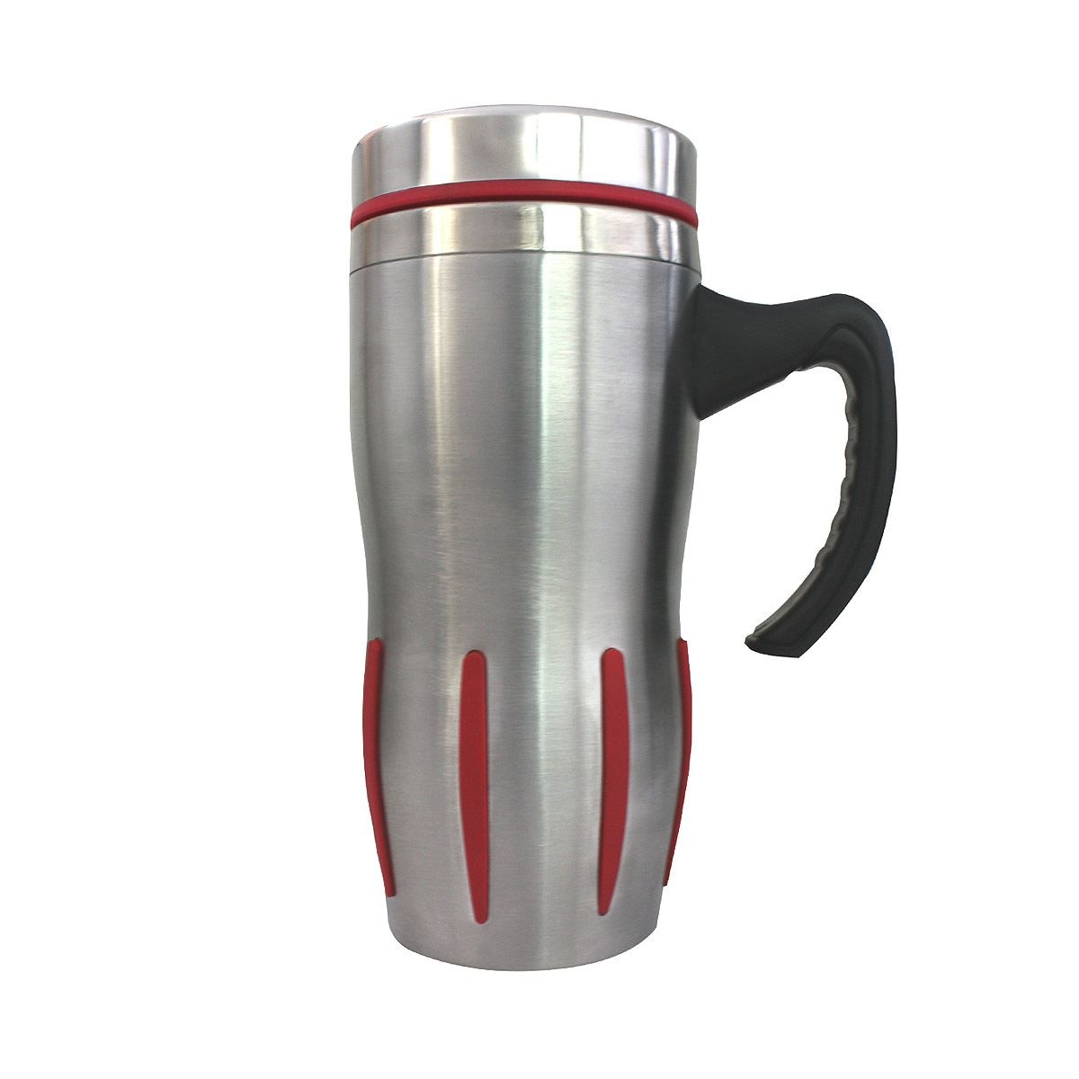 Taza steiner de  acero inoxidable con asa 450ml  - Sanborns