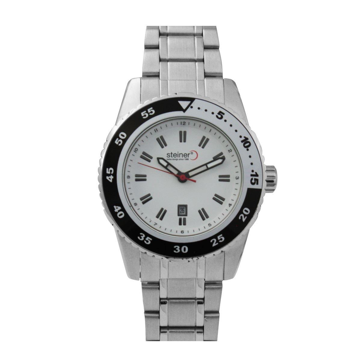Reloj análogo steiner st22512d  - Sanborns