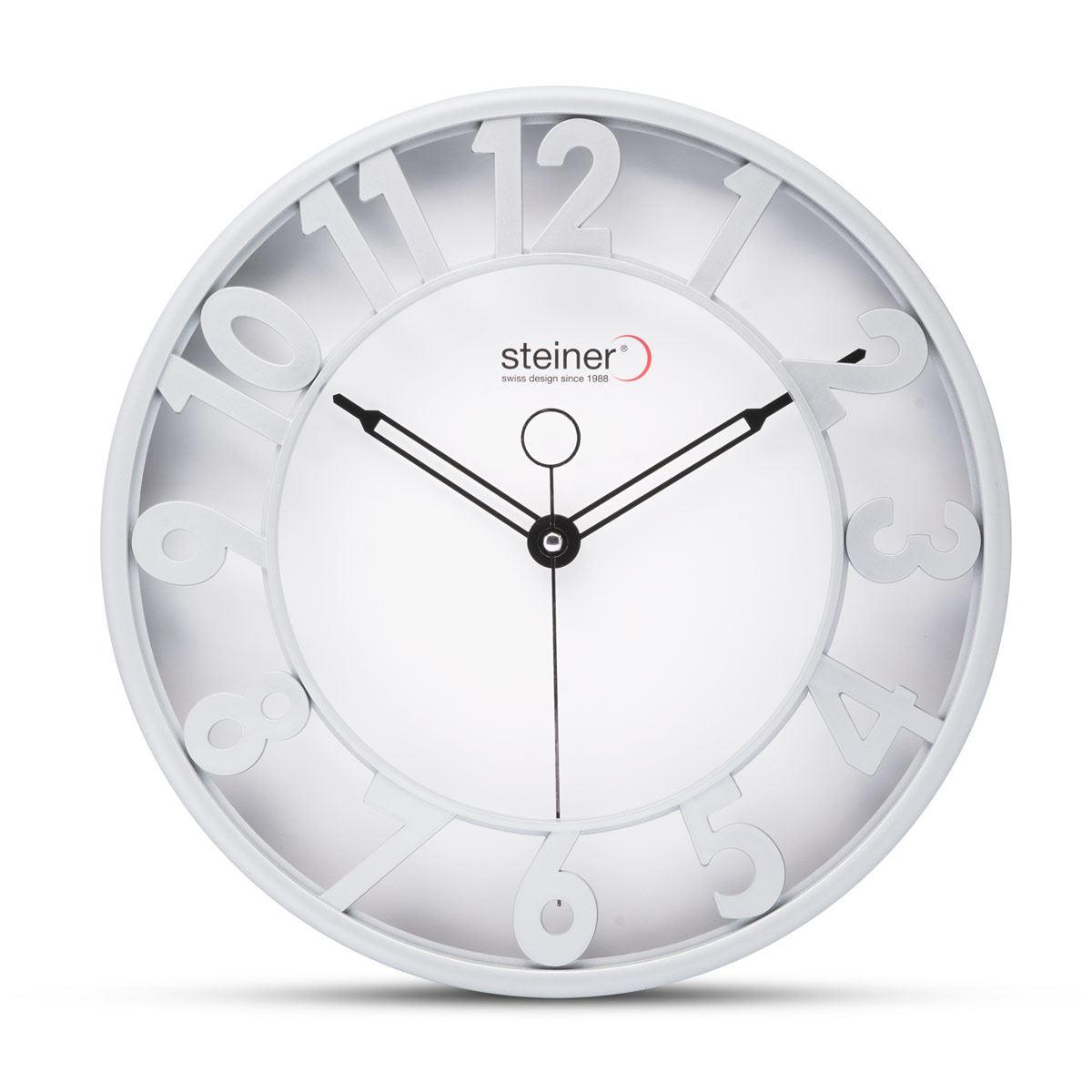 Reloj de Pared Steiner Blanco 3280-YZ