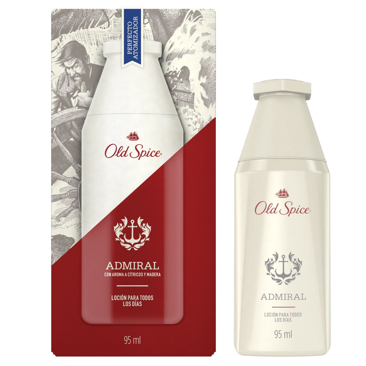 Loción admiral spy 95 ml old spice  - Sanborns
