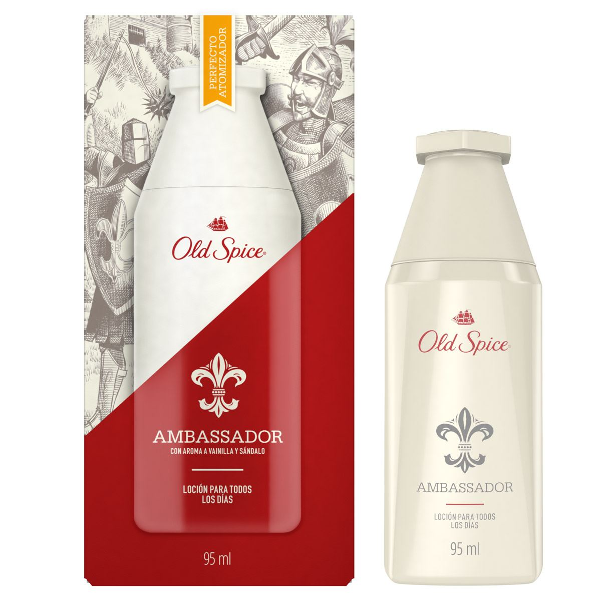 Loción ambassador spy 95 ml old spice  - Sanborns