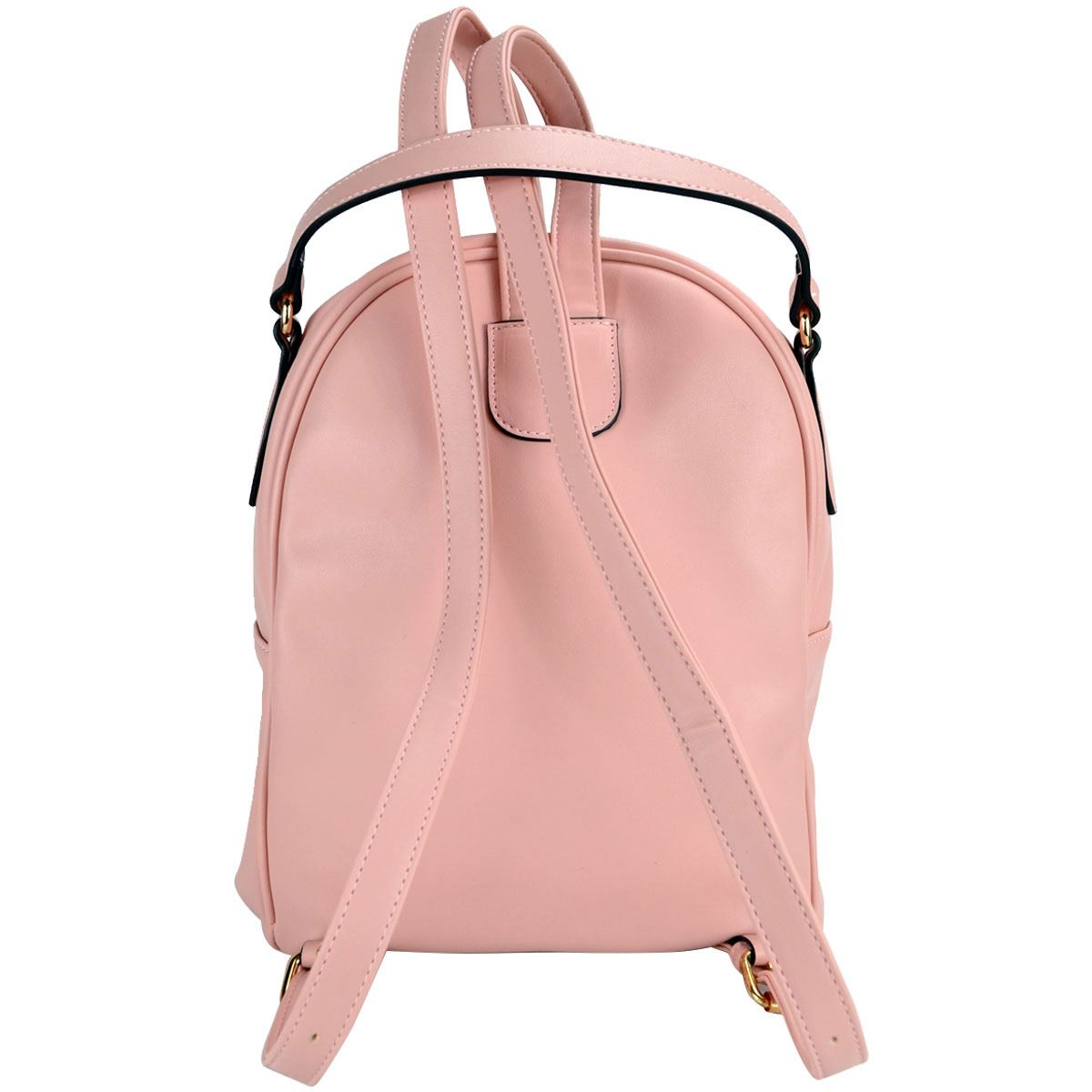 Bolsa Huser Backpack Mediano Modelo Sh19409-2 Color Rosa