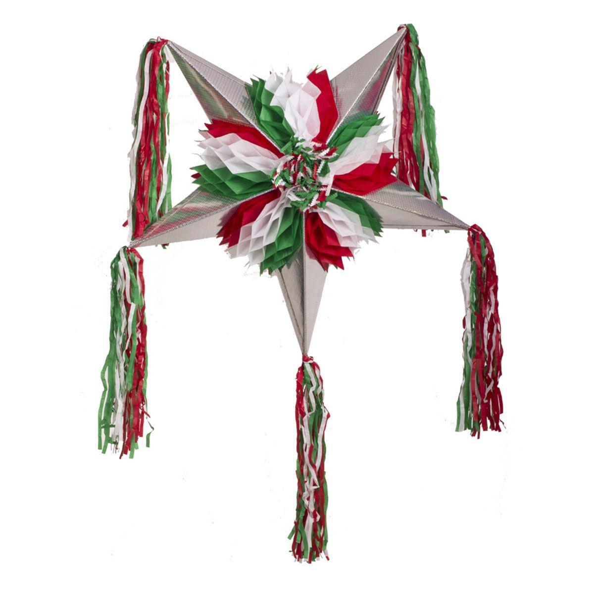 Piñata plegable tricolor