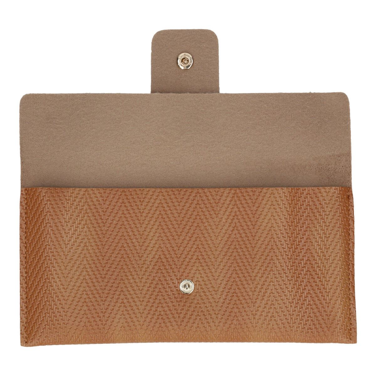 Cartera Tipo Piel Phi By Philosophy Jr. Beige