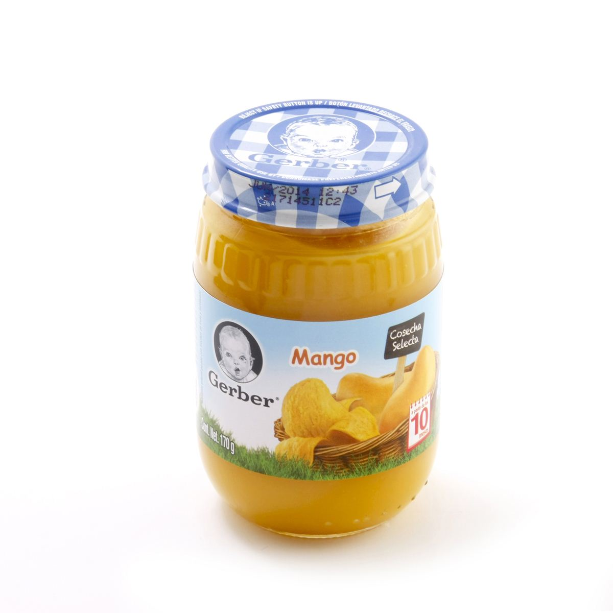 Gerber sabor mango  - Sanborns