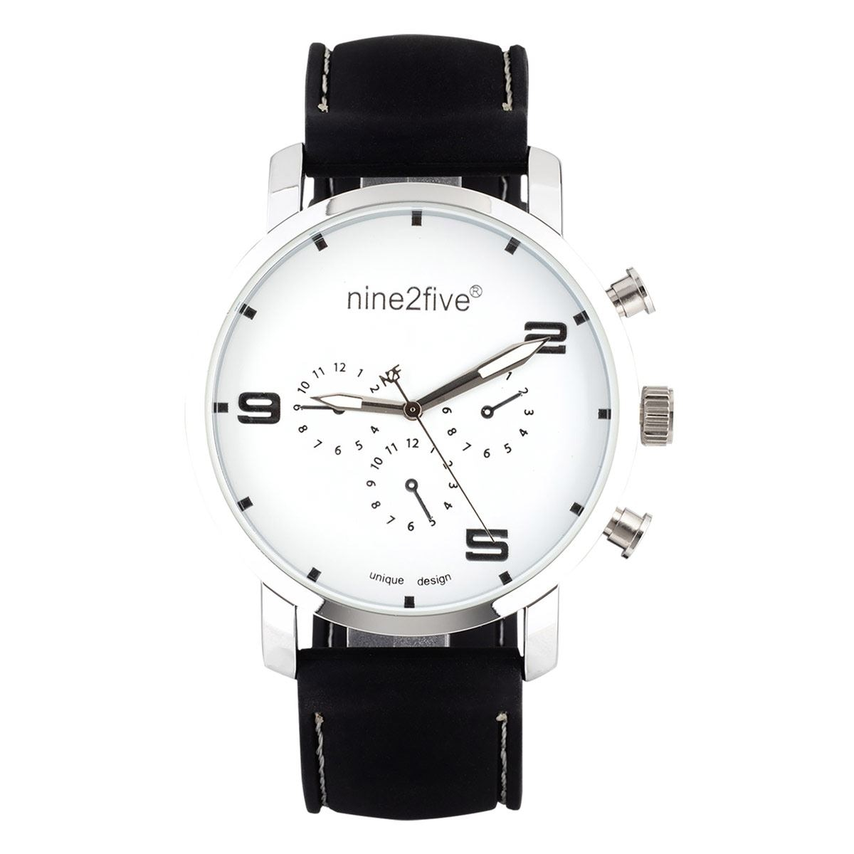 Reloj N2F AS19W14CNG Caballero Color Negro