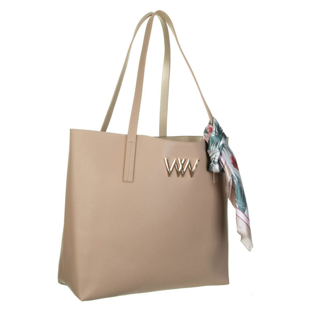 Bolso Westies tote taupe