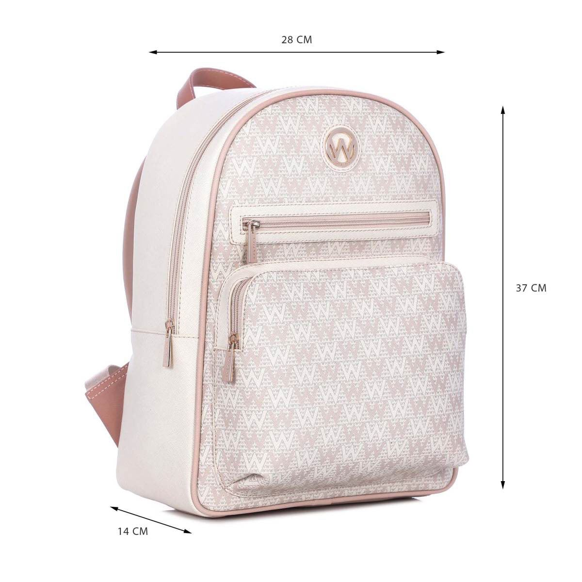 Bolso Westies backpack rosa/multi