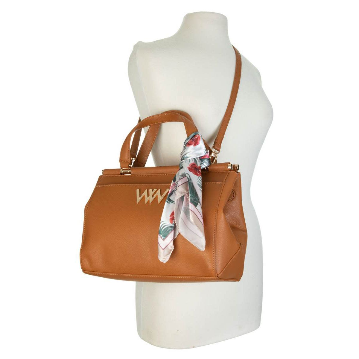 Bolso Westies satchel tan