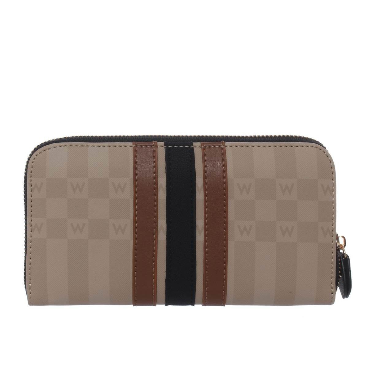 Cartera Zip Around Beige Hbecstasy39We Westies