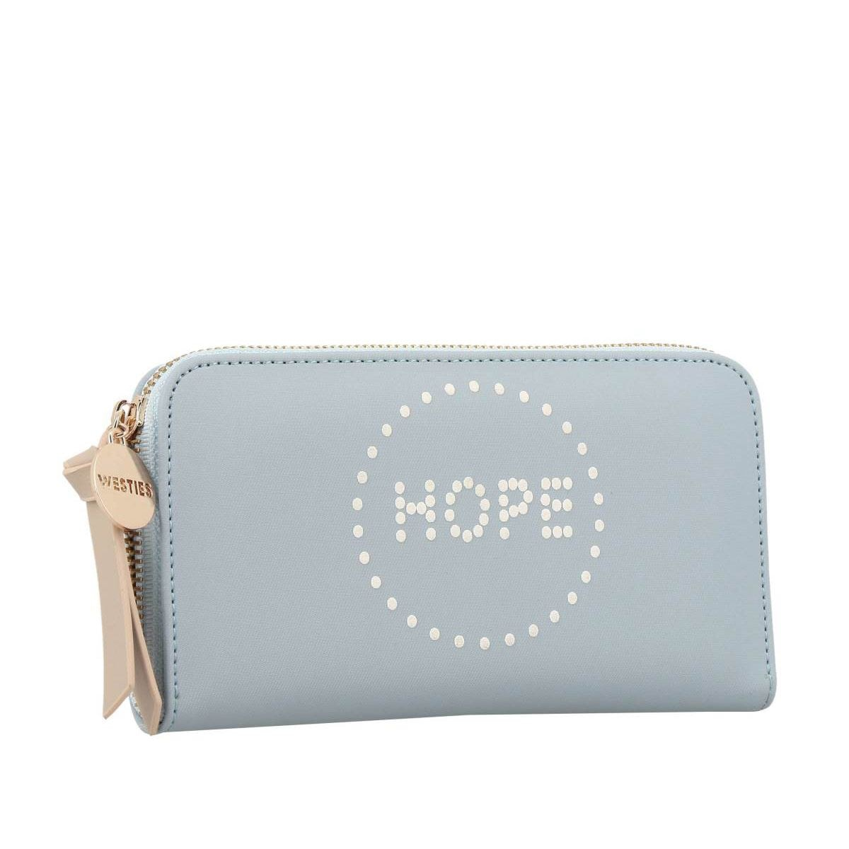 Cartera Zip Around Hope Azul Claro Westies