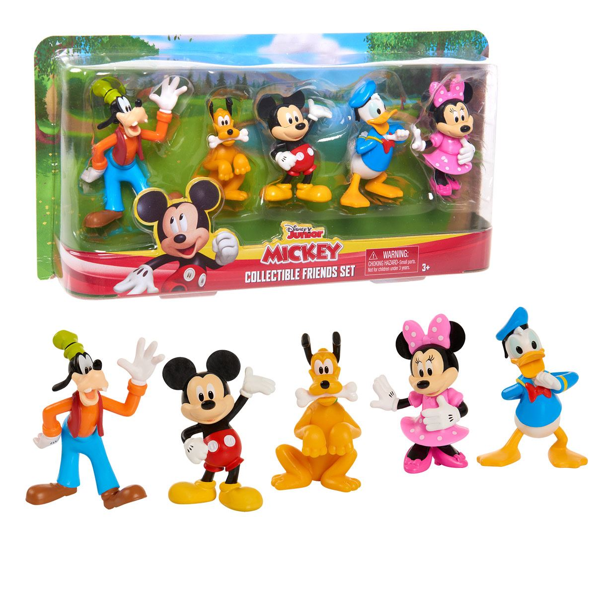 Mickey Collectible Friends Figure Set