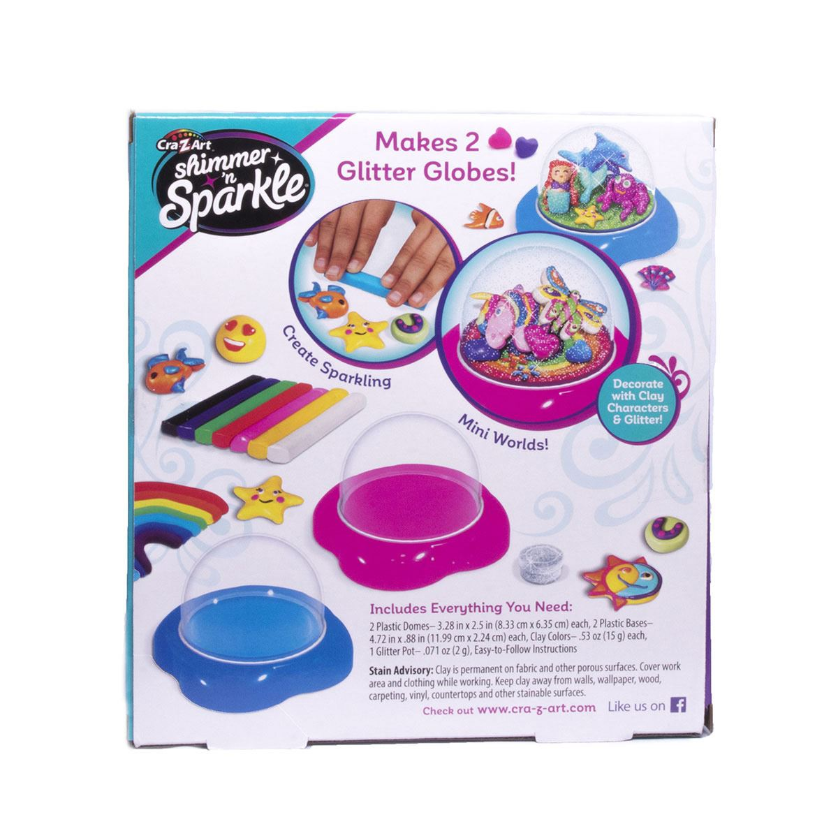Shimmer and Sparkle Glitter Dome Kit