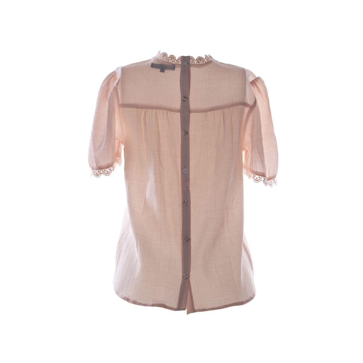 Blusa cuello Mao  Philosophy Jr.