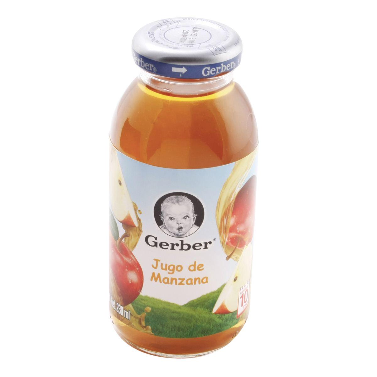 Gerber jugo de manzana 237 ml  - Sanborns