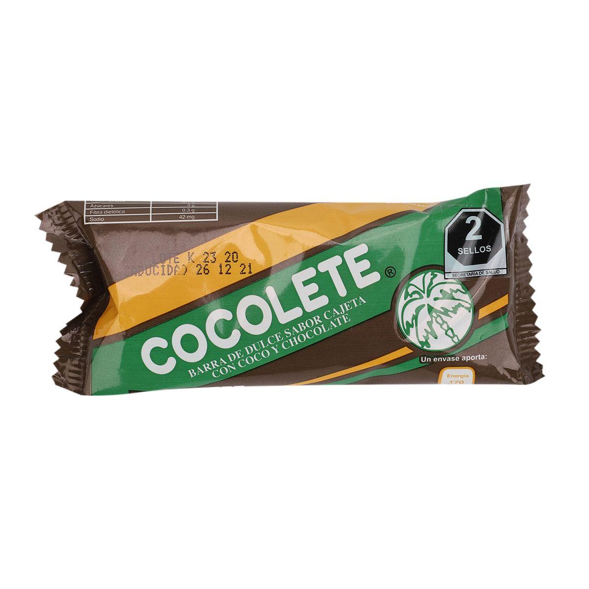 Cocolete barra  - Sanborns