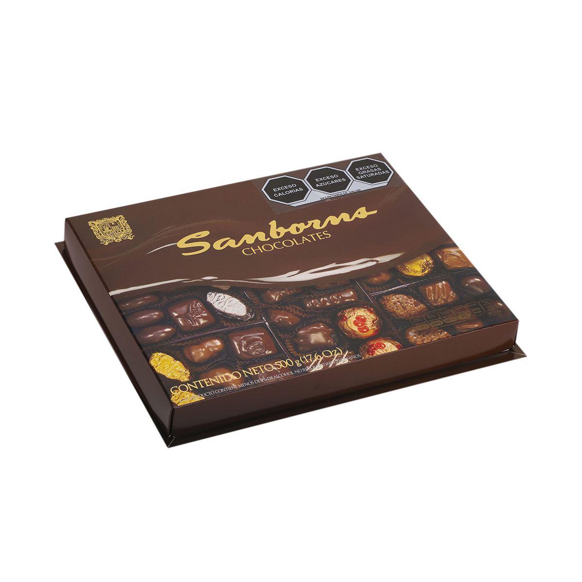 Caja de Chocolates Sanborns 500g