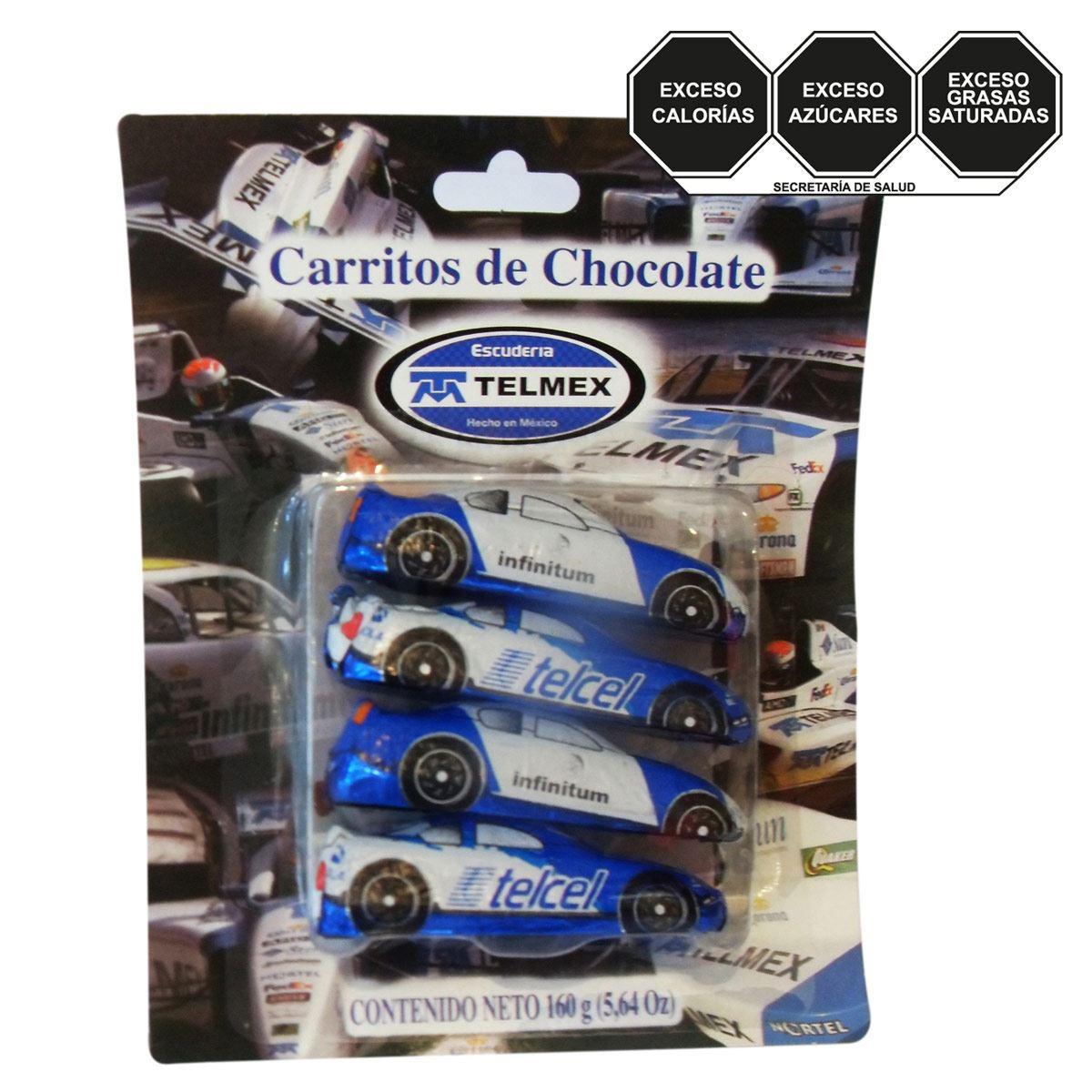 Cochecitos de Chocolate Telmex de 160 gramos Azulejos