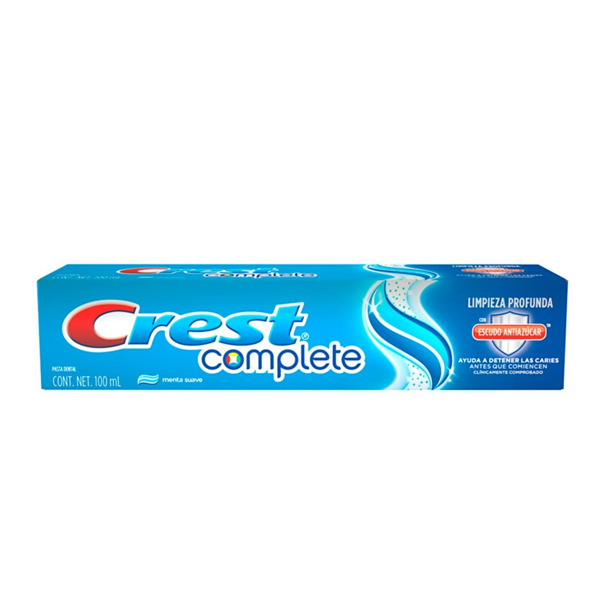 Crema dental crest complete menta suave 100ml  - Sanborns