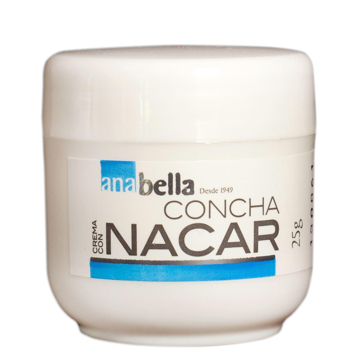 Crema concha nácar  - Sanborns