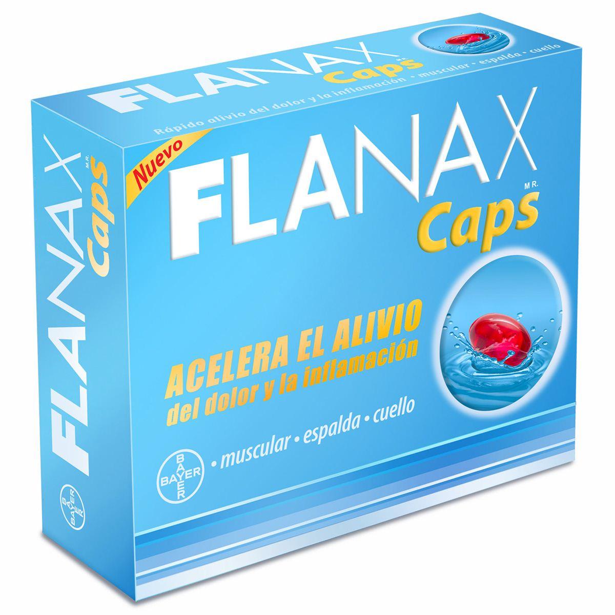 Flanax caps  - Sanborns