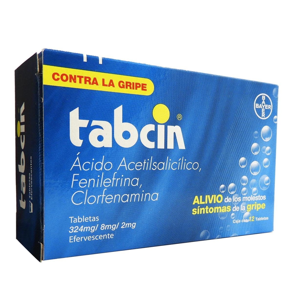 Tabcin 12 tabletas efervecentes  - Sanborns