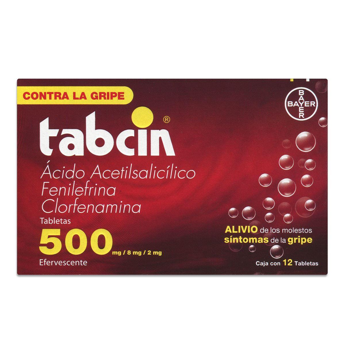 Tabcin tabletas efervecentes 12 tabletas  - Sanborns