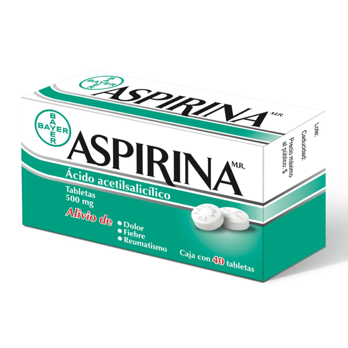 ¿Os acordáis de la Aspirina? 7501008491966