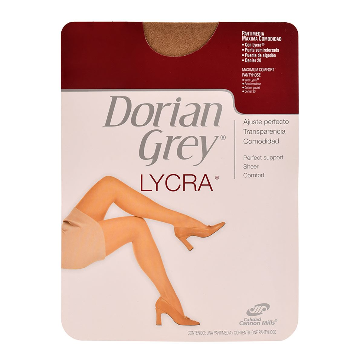 Pantimedia Dorian Grey  Likra T. Chica Color Natural