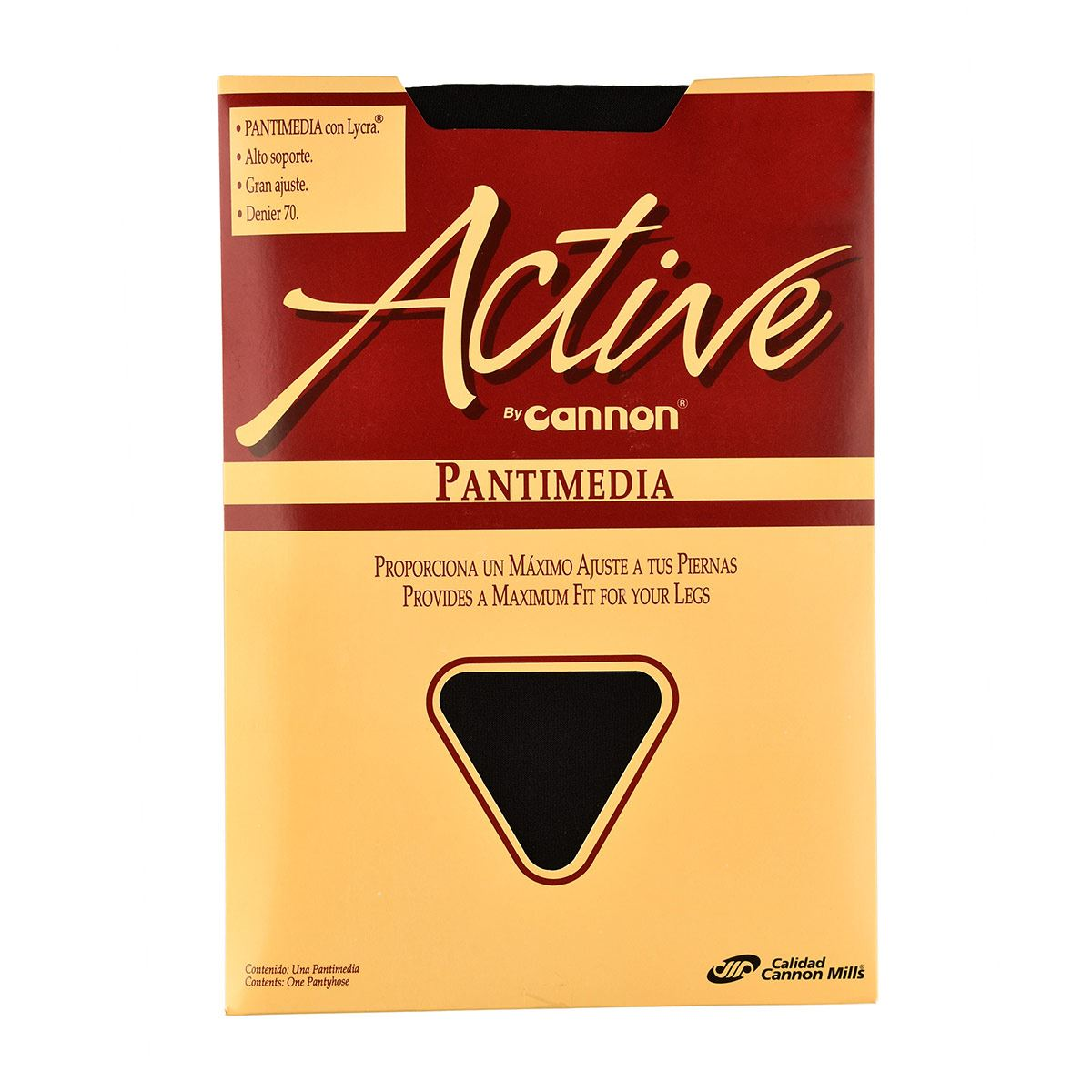 Pantimedia Active  T. Chica  Color Negro