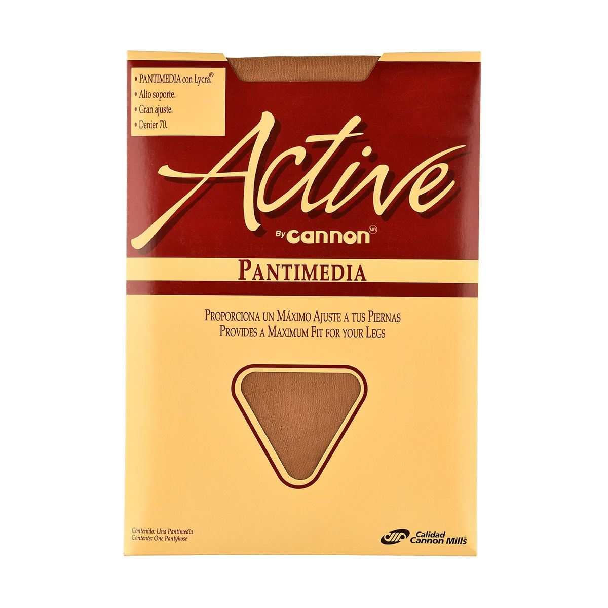 Pantimedia active  t. grande color natural  - Sanborns