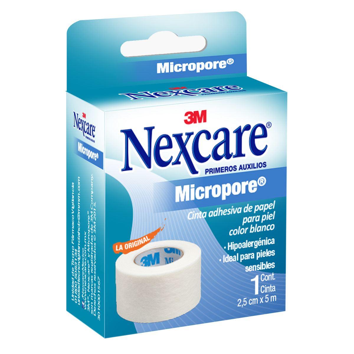 Micropore Color Blanco 2.50 cm x 5 m
