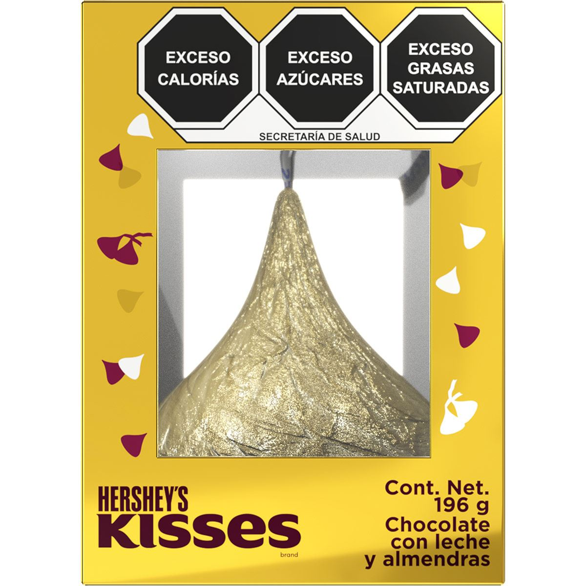 Chocolate Kisses 196 g Hershey's