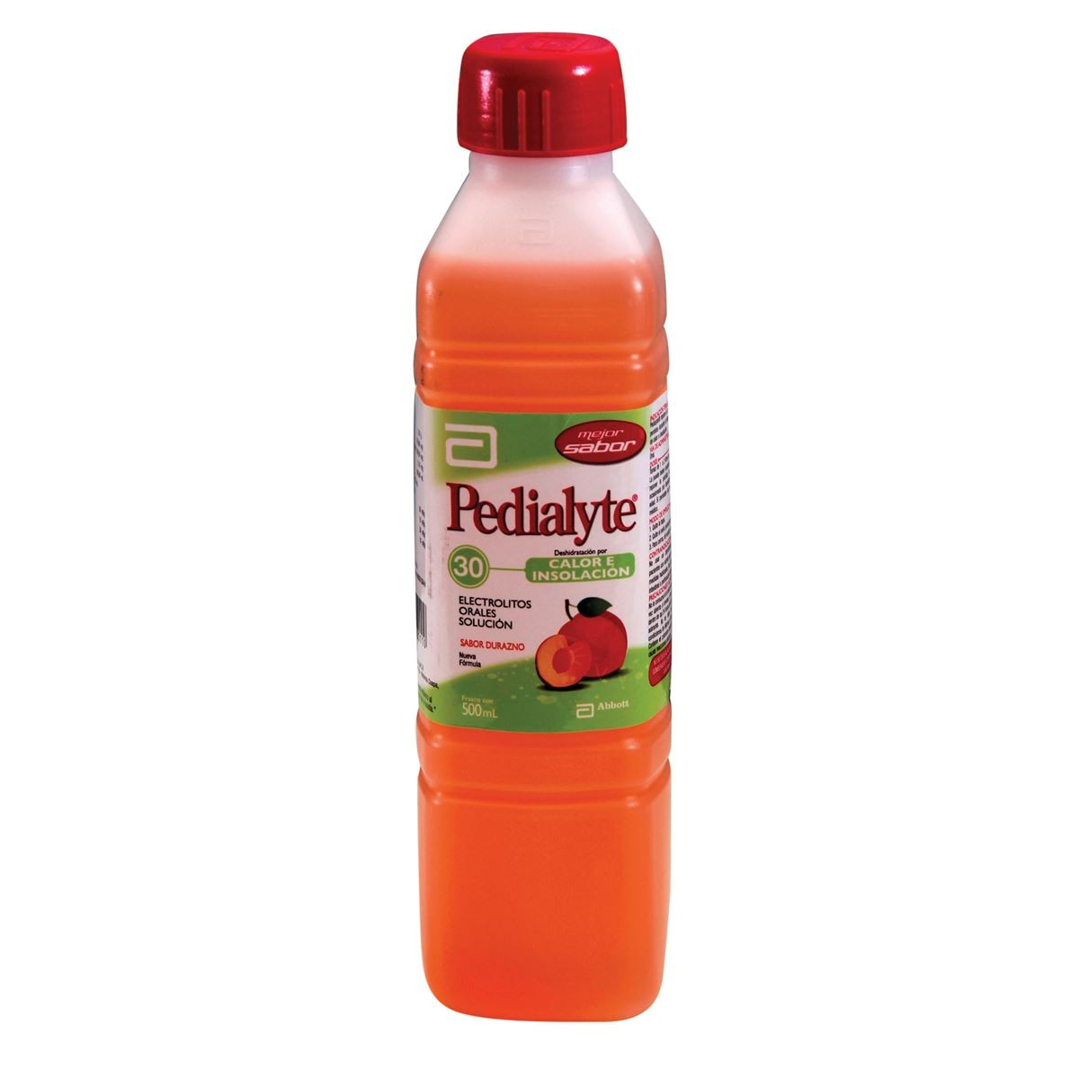 Pedialyte durazno 500ml