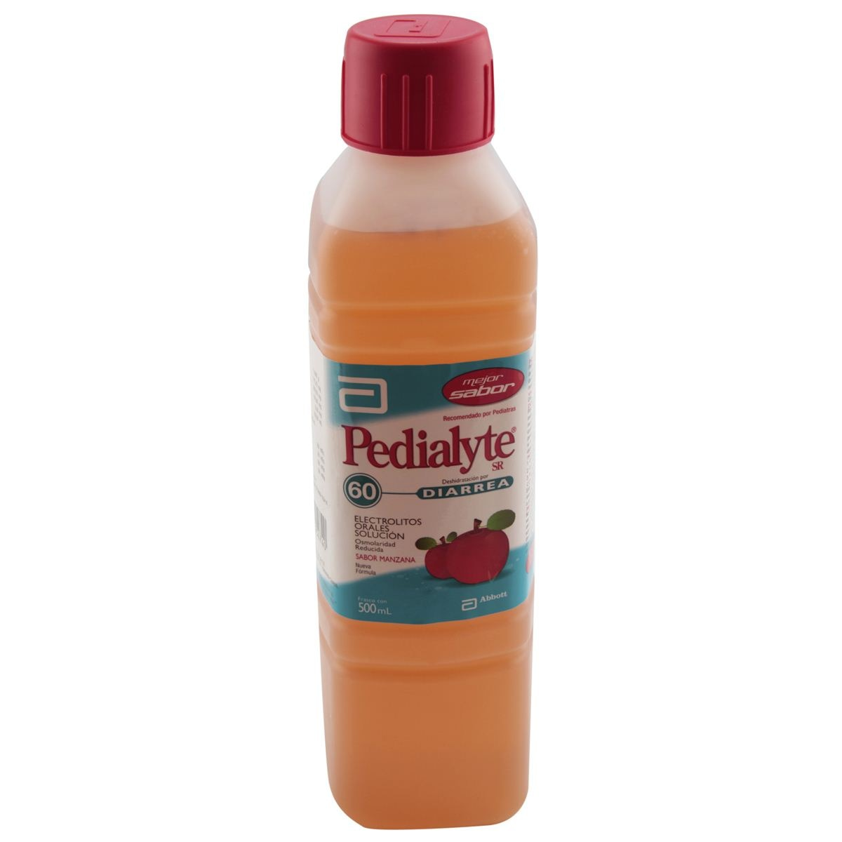 Pedialyte sr 60 500ml manz  - Sanborns
