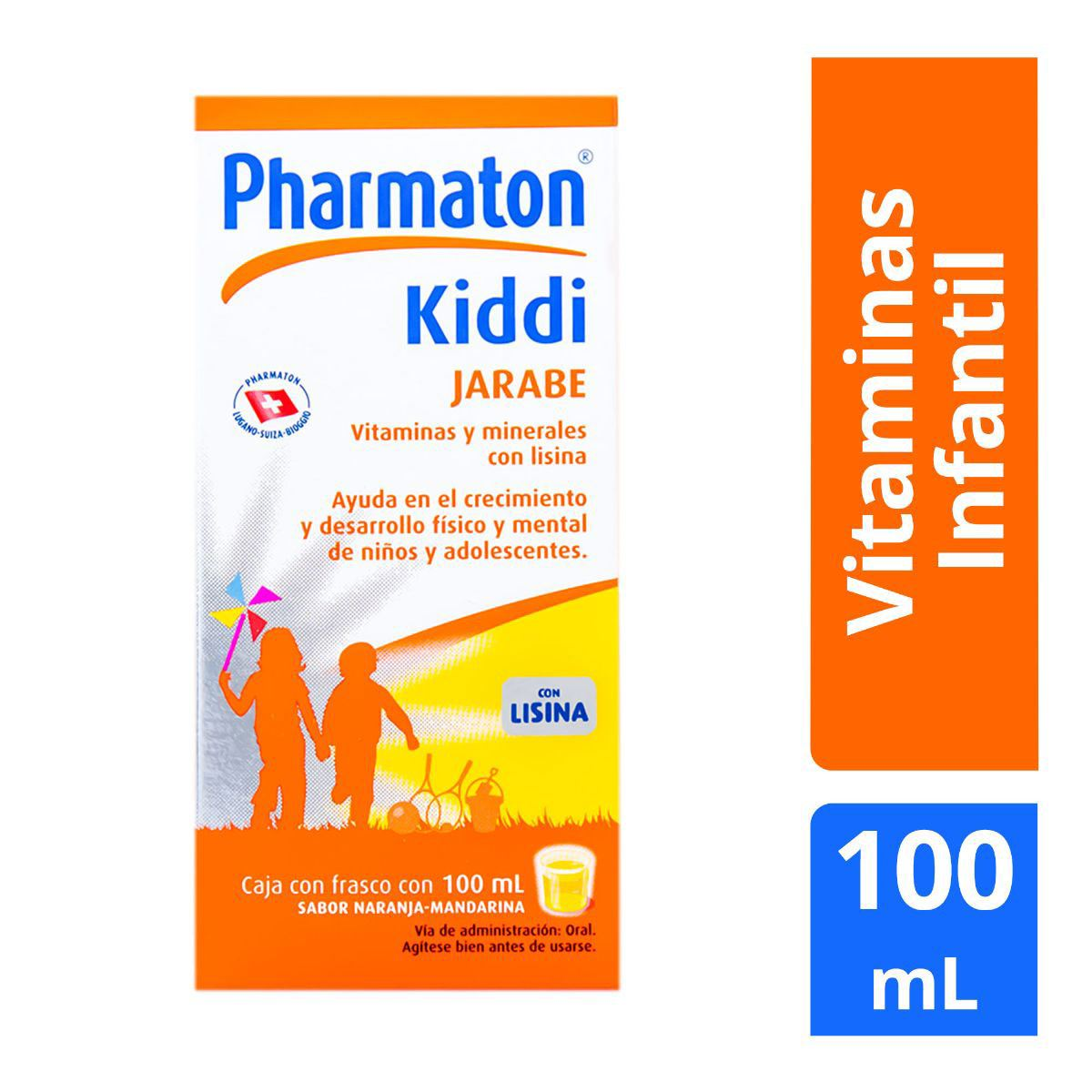 Kiddi pharmaton sabor naranja 100 ml  - Sanborns