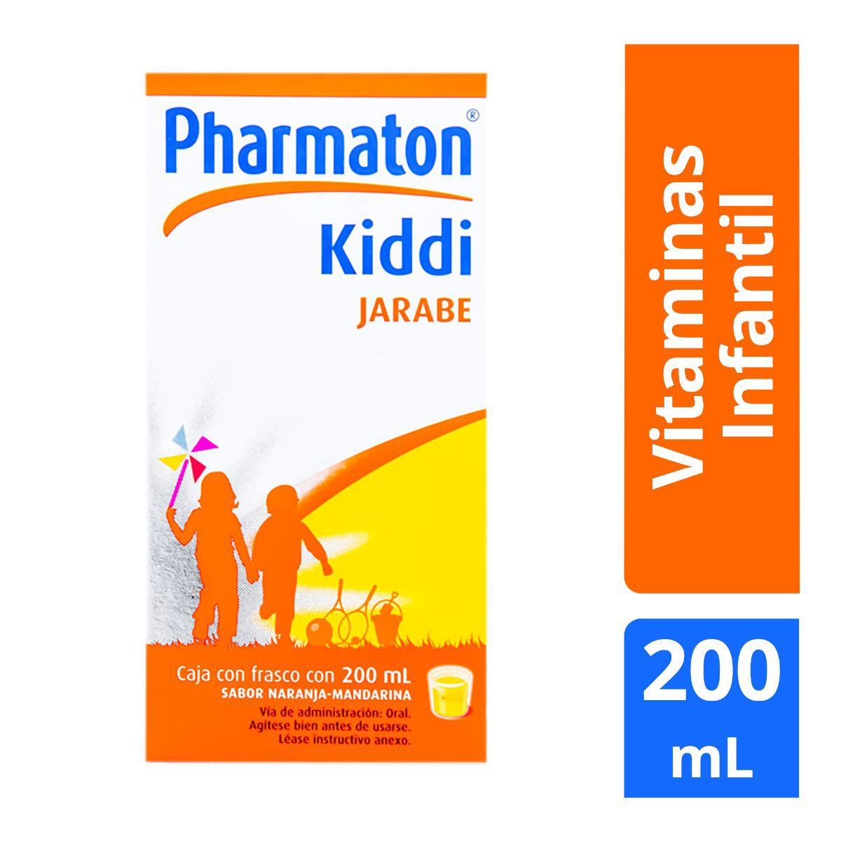 Kiddi pharmaton susp.200ml.  - Sanborns