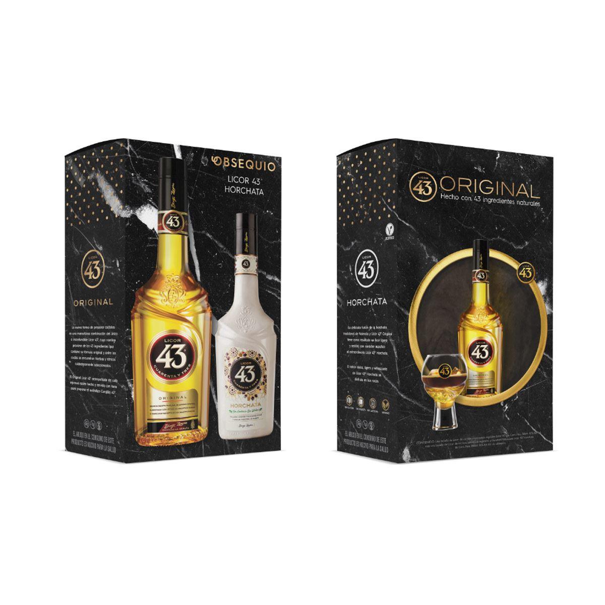 Licor 43 Horchata 750 ml + Licor 43 375 ml