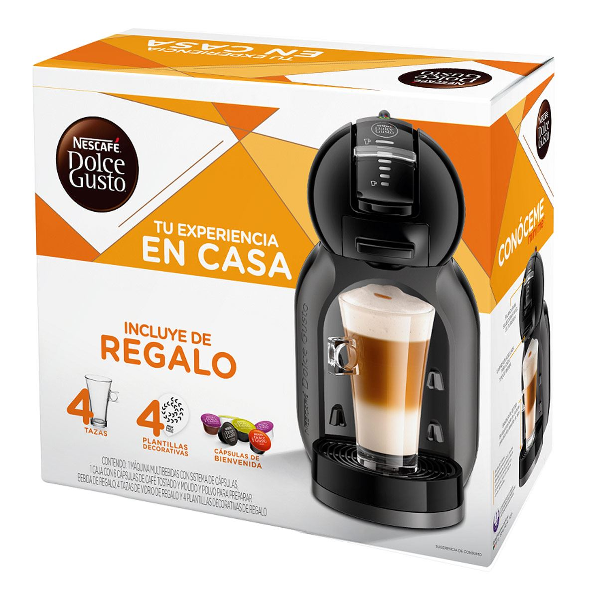 Cafetera Mini Me negra Dolce gusto